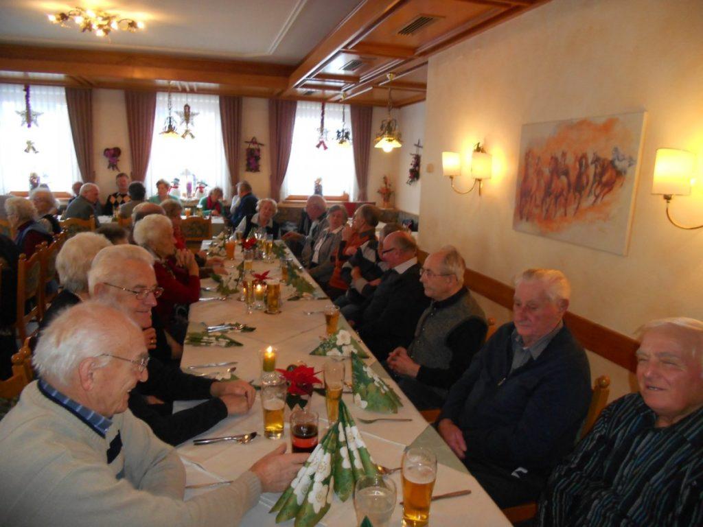 Weihnachtsfeier PVÖ Gitschtal 2019